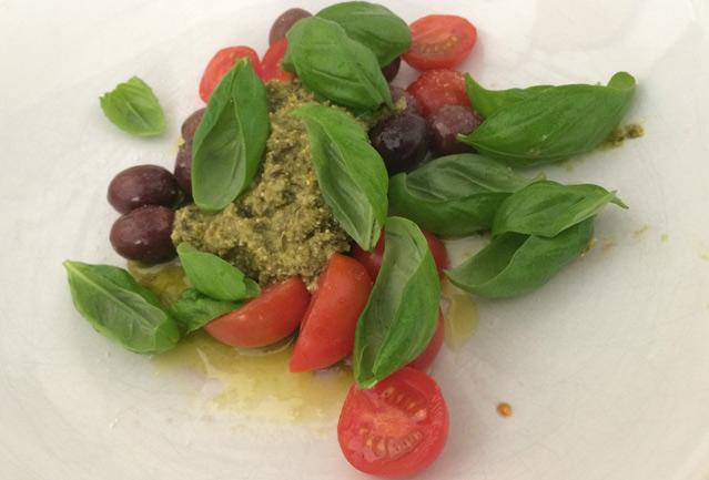 Salat, Sommer salat, Grillen, Nudelsalat, Nudeln, Tomaten, Pesto, Kochen, Rezepte, Was koche ich heute, gesund Kochen, Lecker salat