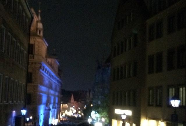 Nürnberg, Event, Blaue Nacht, Altstadt, Burg, Nünberger, Kultur
