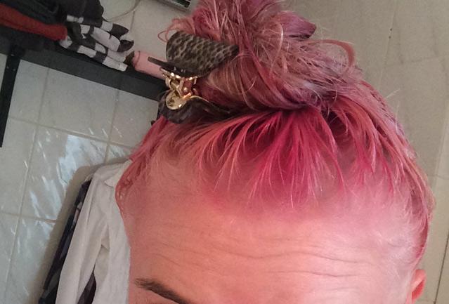 pink, rosa, pastell, Haare, färben, bunte Haare, directions, loreal, rosa haare