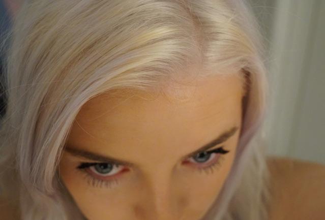 Blondieren, DIY, do it yourself, haare färben, Haare blondieren, weiße haare, White fire, Directions, Blondierung, selbst, anleitung, schritt für schritt